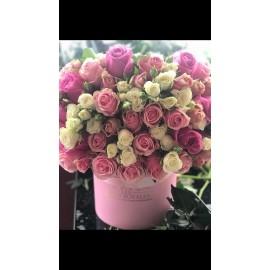 Bouquet de Roses et Spray