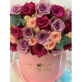 Blueberry and Lilas Roses