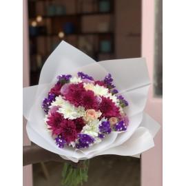 Mixte Purple Chrysanthèmes,...