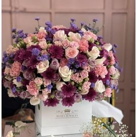 Grand Bouquet Mix Rose et...