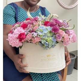 Mummy I got You Flowers !