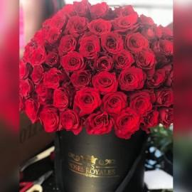 Bouquet 100 Roses rouges