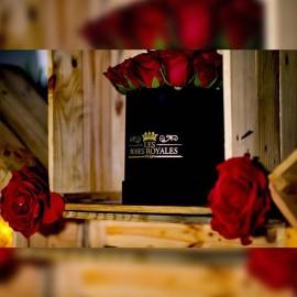 Black velvet box 20 Roses
