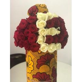 Bouquet pagne vlisco