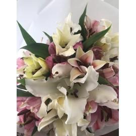 Bouquet de 10 lys